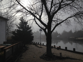 PKU 39 Late Fall Morning Fog